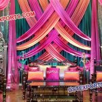 Wedding Mehandi Stage Furniture