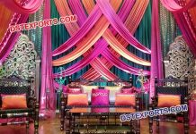 Wedding Mehandi Stage Furniture