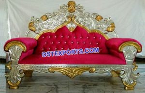We Offer A Wide And Comprehensive Range Of Decorative Wedding Sofa Such As Wooden Sofas Designer Muslim Stage