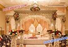 stylish jodha akbar wedding mandap