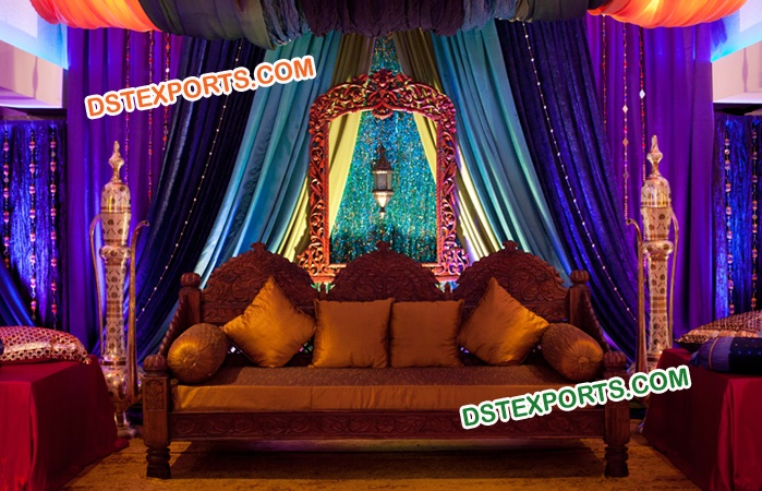 Arabian Night Moroccan Theme Wedding Furniture Mandap