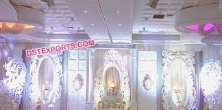 Asian Reception Wedding Stage Decor