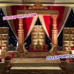 Asian Sri Lankan Wedding Stage Decorations
