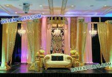Asian Wedding Stage Decoration Set