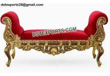 Back Less Sofa For Muslim Mehndi Function