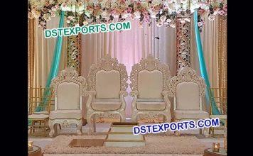 Beautiful Design Wedding Mandap Stage Chairs