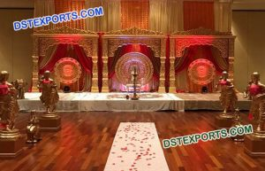 Bollywood Jodha Akbar Wedding Stage Set