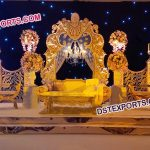 Bollywood Wedding Stage Decoration