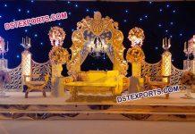 Bollywood Wedding Stage Decoration