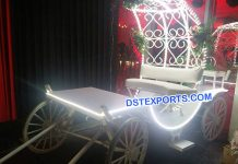 Bridal Entry Open Buggy Carriage 9273