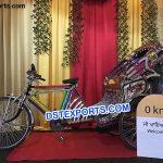 Bride And Groom Entrance in Rickshaw 8719