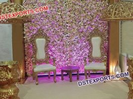 Bride & Groom Marriage Chairs