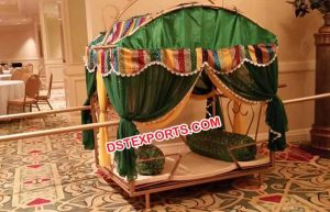 Decorated bridal wedding doli mandap exporters we are manufacturer and exporter all type of wedding doli palki metal doliwooden dulhan doli indian wedding doli bridal doli palki traditional dolis junglespirit Images