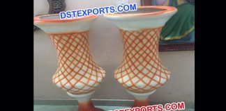 Decorative Pots For wedding Walkway