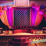 Designer Backdrops of Candle Panel & Umbrellas