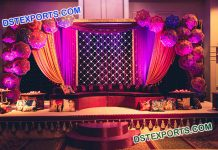 Designer Backdrops of Candle Panel & Umbrellas