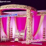 Designer Fiber Carved Wedding Mandap
