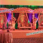Exquisite Wedding Stage Decoration9513