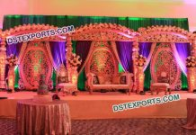 Exquisite Wedding Stage Decoration9513