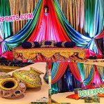 Mehandi Night Function Decoration