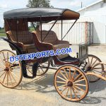 Four Seater Limousine Horse Carriage