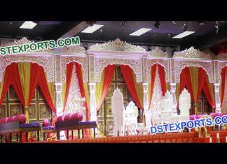 Grand Bollywood Wedding Stage Set 9533