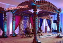 Grand Indian Wedding Decoration Mandap