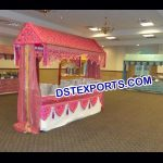 Indian Wedding Food Stall Canopy