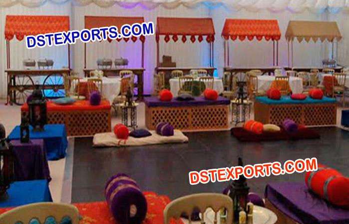 Indian Wedding Food Stall – Mandap Exporters