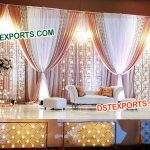 Latest Design Wedding Candle Backdrop