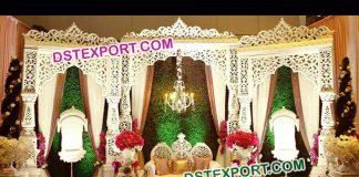 Maharaja Wedding Stage Decoration 9503