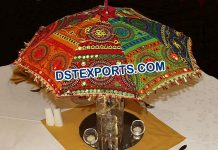 Mehndi Theme, Umbrella Table Centerpieces