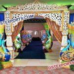Peacock Theme Wedding Welcome Gate