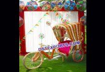 Punjabi Wedding Dulhan Entry Idea Rickshaw9555