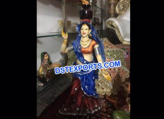Rajasthani Garba Lady Statue