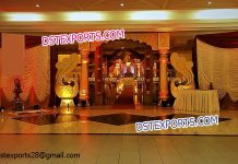Rajwada Theme Wedding Entrance Welcome Gate