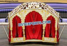 Rajwadi Rajasthani Wedding Doli Palki