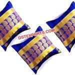 Royal Blue Wedding Cushion Covers
