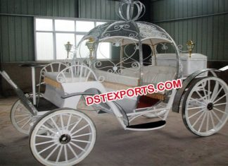 Stylish Wedding Cinderella Carriage