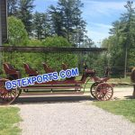 Tourist Long Horse Drawn Buggy Carriage