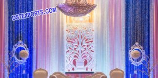 Backdrop Panel for wedding Stage Decoration
