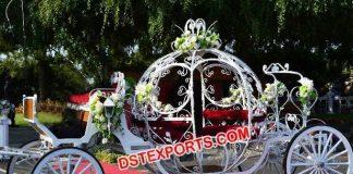 Wedding Cinderella Horse Drawn Carriages