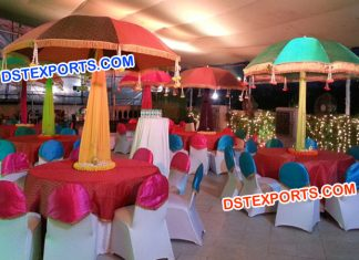 Wedding Colorful Umbrella For Table Decoration