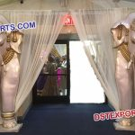 Wedding Entrance Fiber Elephant Statues