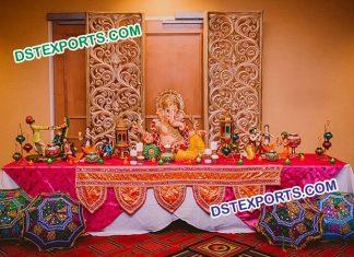 Wedding Rajasthani Theme Foyer Setup