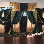 Wedding Reception Decor Stage Backdrop