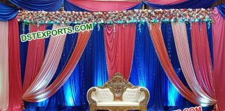Wedding Reception Stage Backdrop Curtains