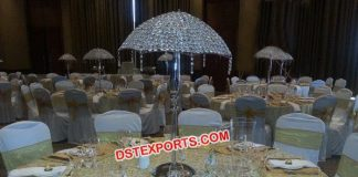 Wholesale Table Centerpieces Crystal Umbrella