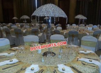 Wholesale Table Centerpieces Crystal Umbrella