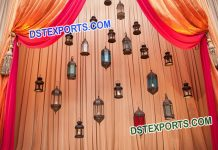Small Hanging Moroccan lamps for decoration